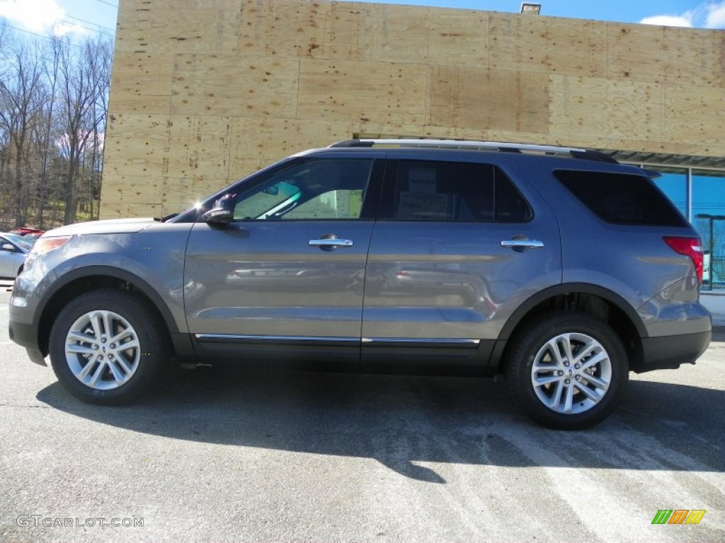 2013 Sterling Gray Metallic Ford Explorer XLT 4WD #63383955 Photo #4