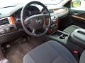 Ebony 2008 Chevrolet Avalanche Interiors