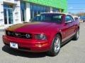 2006 Redfire Metallic Ford Mustang V6 Premium Convertible  photo #2