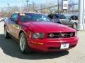 2006 Redfire Metallic Ford Mustang V6 Premium Convertible  photo #4