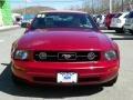 2006 Redfire Metallic Ford Mustang V6 Premium Convertible  photo #13