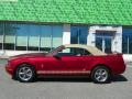 2006 Redfire Metallic Ford Mustang V6 Premium Convertible  photo #18