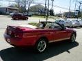 2006 Redfire Metallic Ford Mustang V6 Premium Convertible  photo #20