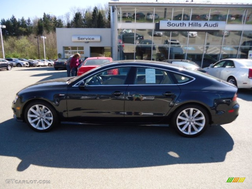 2012 Moonlight Blue Metallic Audi A7 3 0t Quattro Premium 63450575