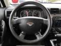 Ebony/Pewter Steering Wheel Photo for 2009 Hummer H3 #63462739