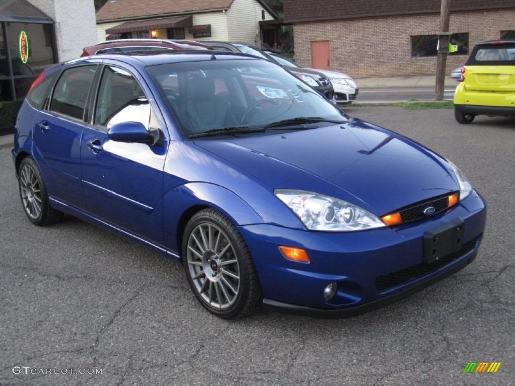 2004 sonic blue metallic ford focus svt hatchback 63450912 car color galleries. Black Bedroom Furniture Sets. Home Design Ideas