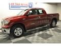2009 Salsa Red Pearl Toyota Tundra Double Cab  photo #24