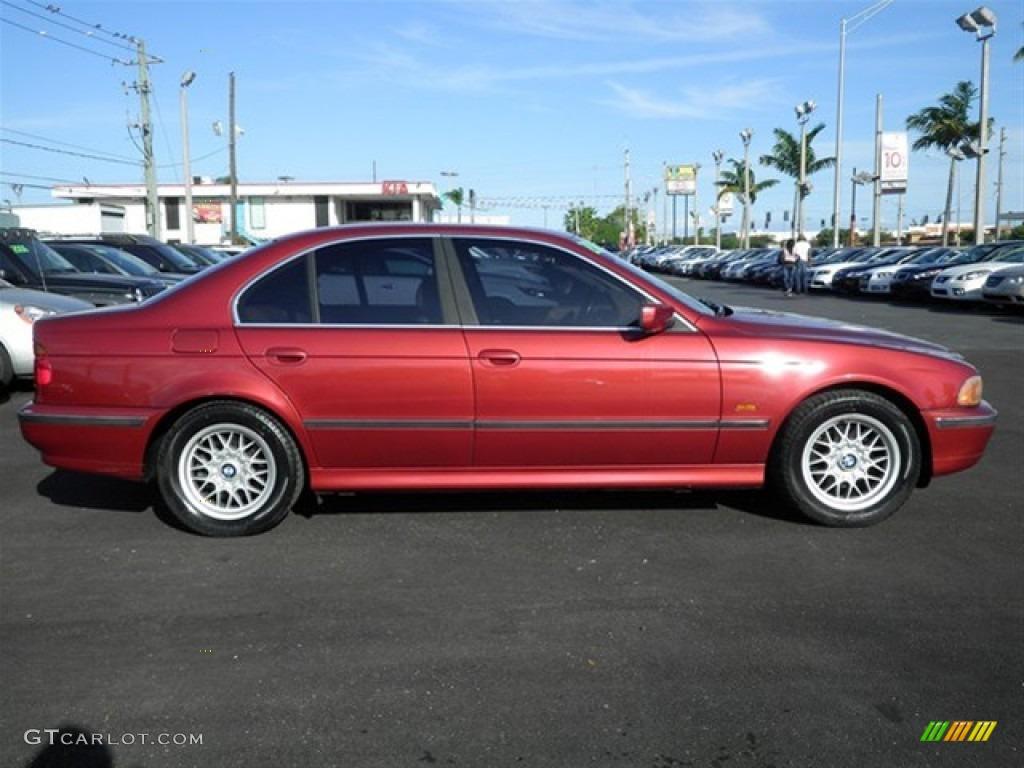 Siena Red Metallic 2000 Bmw 5 Series 528i Sedan Exterior Photo 63479902