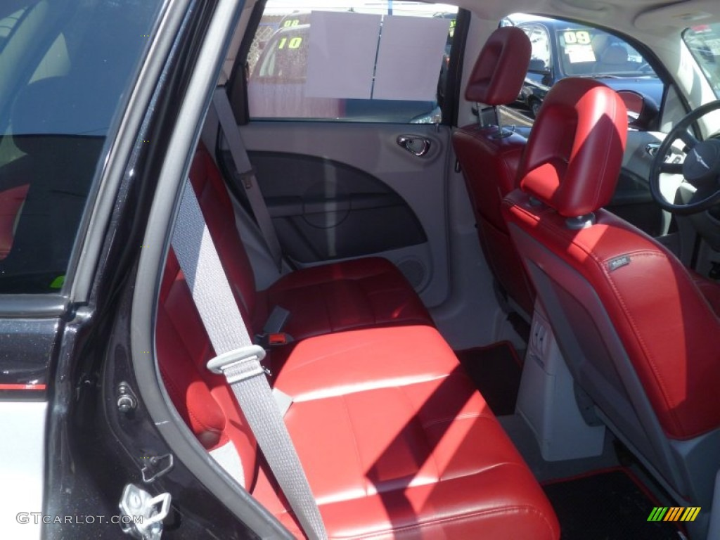 radar red interior 2010 chrysler pt cruiser couture. Black Bedroom Furniture Sets. Home Design Ideas
