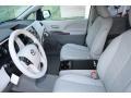 2012 Silver Sky Metallic Toyota Sienna XLE AWD  photo #3