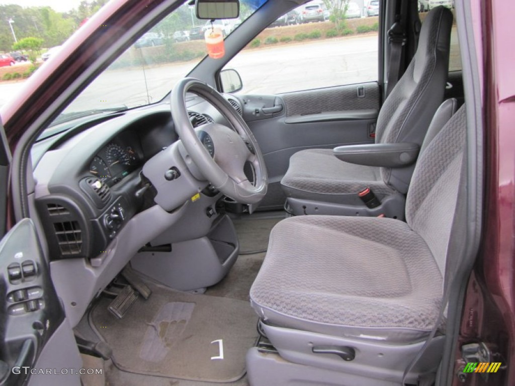 Dodge dodge 1999 caravan : Mist Gray Interior 1999 Dodge Grand Caravan SE Photo #63499657 ...