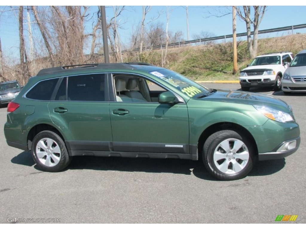 2010 cypress green pearl subaru outback 25i limited wagon 2010 outback 25i limited wagon cypress green pearl warm ivory photo 4 vanachro Gallery