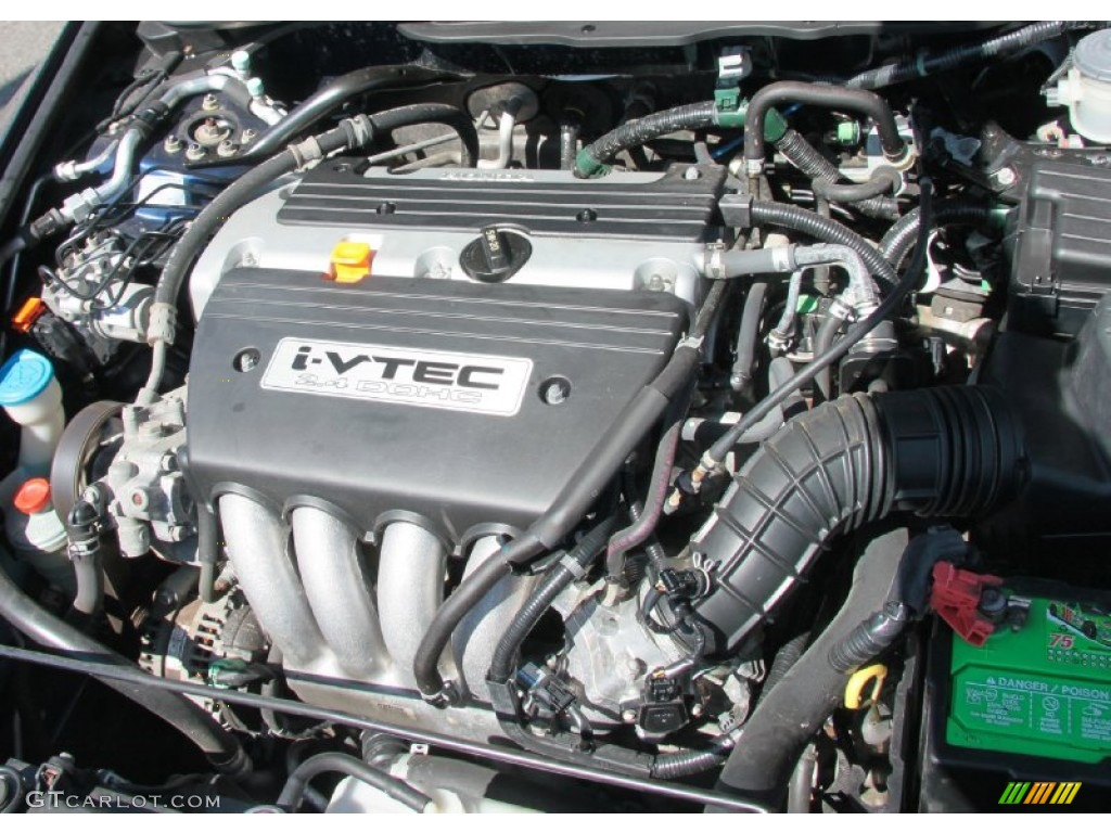 2004 Honda Accord Dx Sedan 2 4 Liter Dohc 16 Valve I Vtec 4 Cylinder Engine Photo 63500992