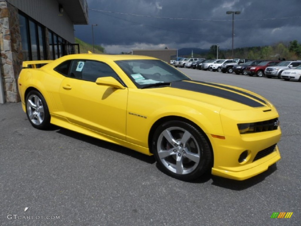 rally yellow 2012 chevrolet camaro ss rs coupe exterior photo 63512055. Black Bedroom Furniture Sets. Home Design Ideas