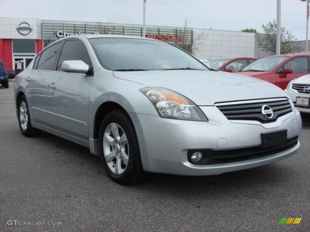 2007 Radiant Silver Metallic Nissan Altima 2 5 Sl