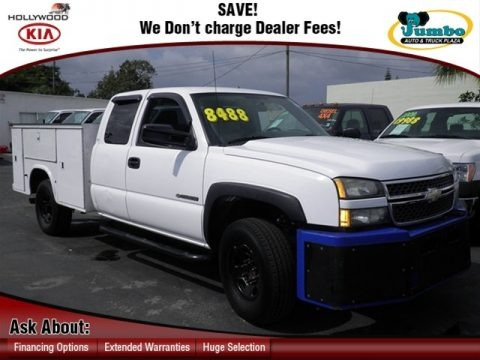 2005 chevrolet silverado 2500hd work truck extended cab utility truck data info and specs. Black Bedroom Furniture Sets. Home Design Ideas