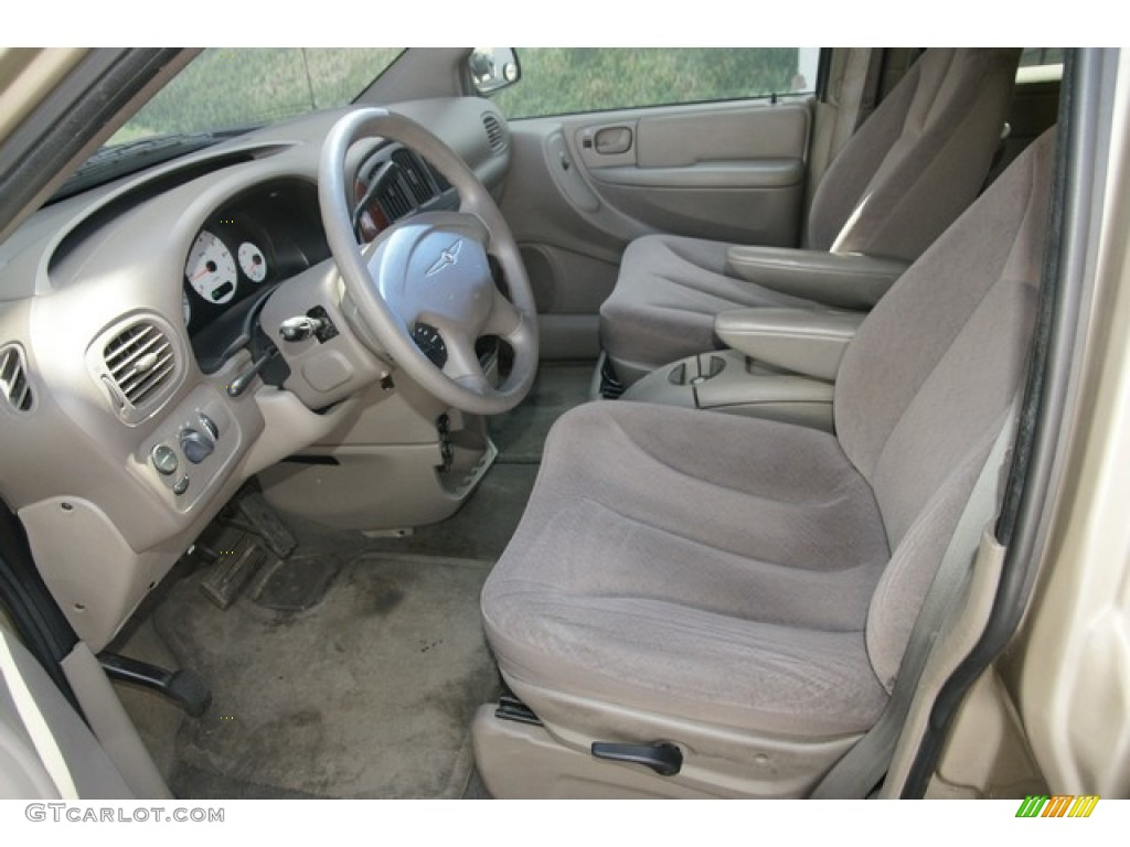Taupe interior 2002 chrysler town country el photo 63540917