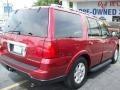 2006 Vivid Red Metallic Lincoln Navigator Luxury  photo #2