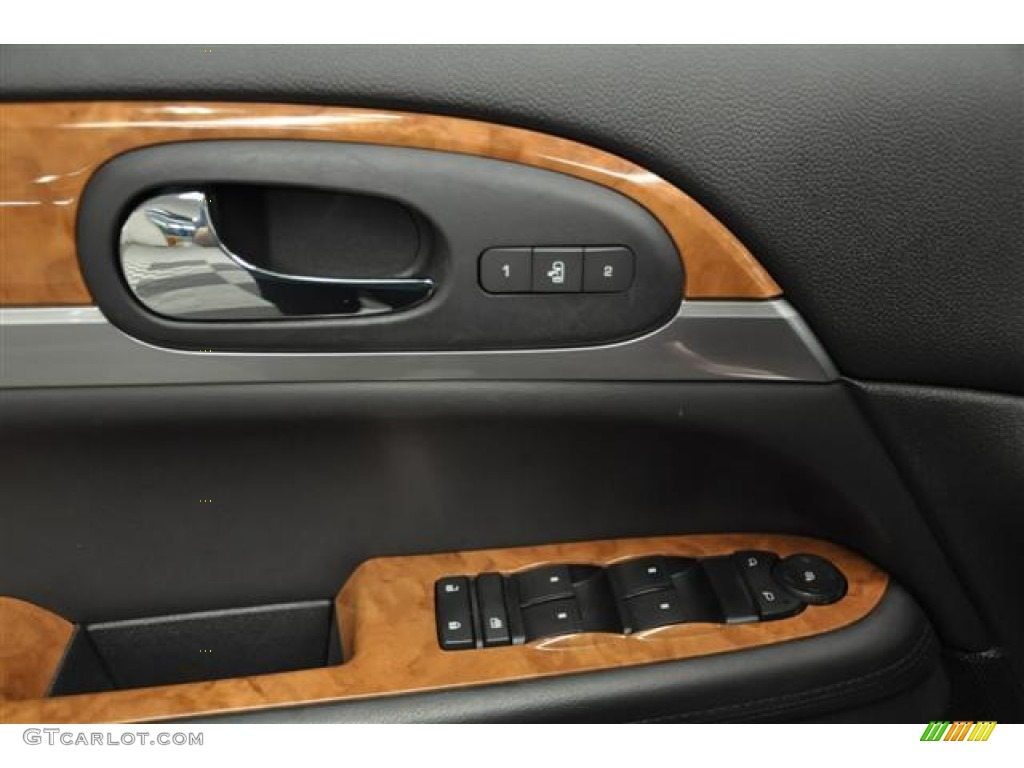 2010 Enclave CXL AWD - Red Jewel Tintcoat / Titanium/Dark Titanium photo #8