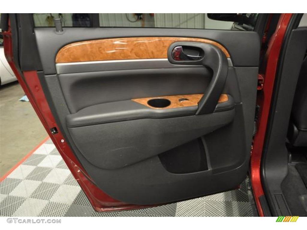 2010 Enclave CXL AWD - Red Jewel Tintcoat / Titanium/Dark Titanium photo #22