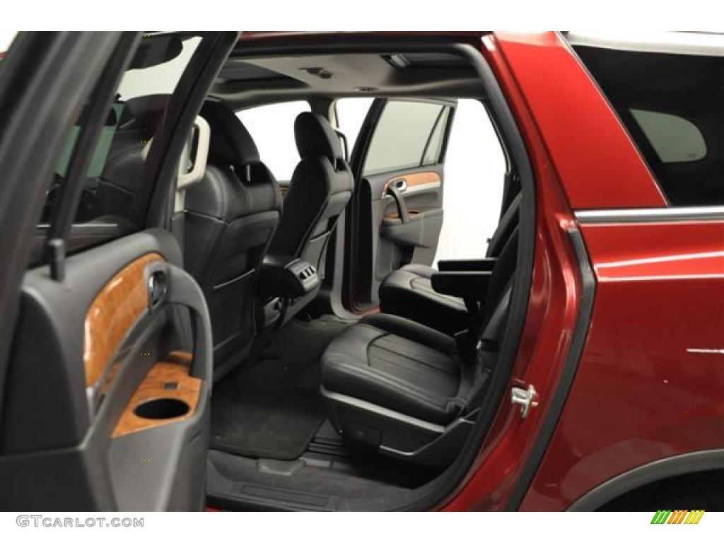 2010 Enclave CXL AWD - Red Jewel Tintcoat / Titanium/Dark Titanium photo #25