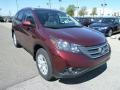 2012 Basque Red Pearl II Honda CR-V EX-L 4WD  photo #7