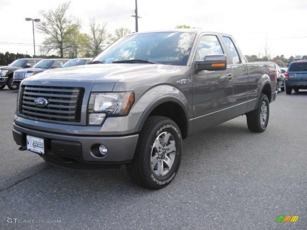sterling gray metallic 2012 ford f150 fx4 supercab 4x4 exterior photo 63559657. Black Bedroom Furniture Sets. Home Design Ideas