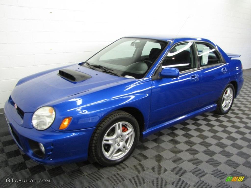 WR Blue Pearl 2002 Subaru Impreza WRX Sedan Exterior Photo #63567209