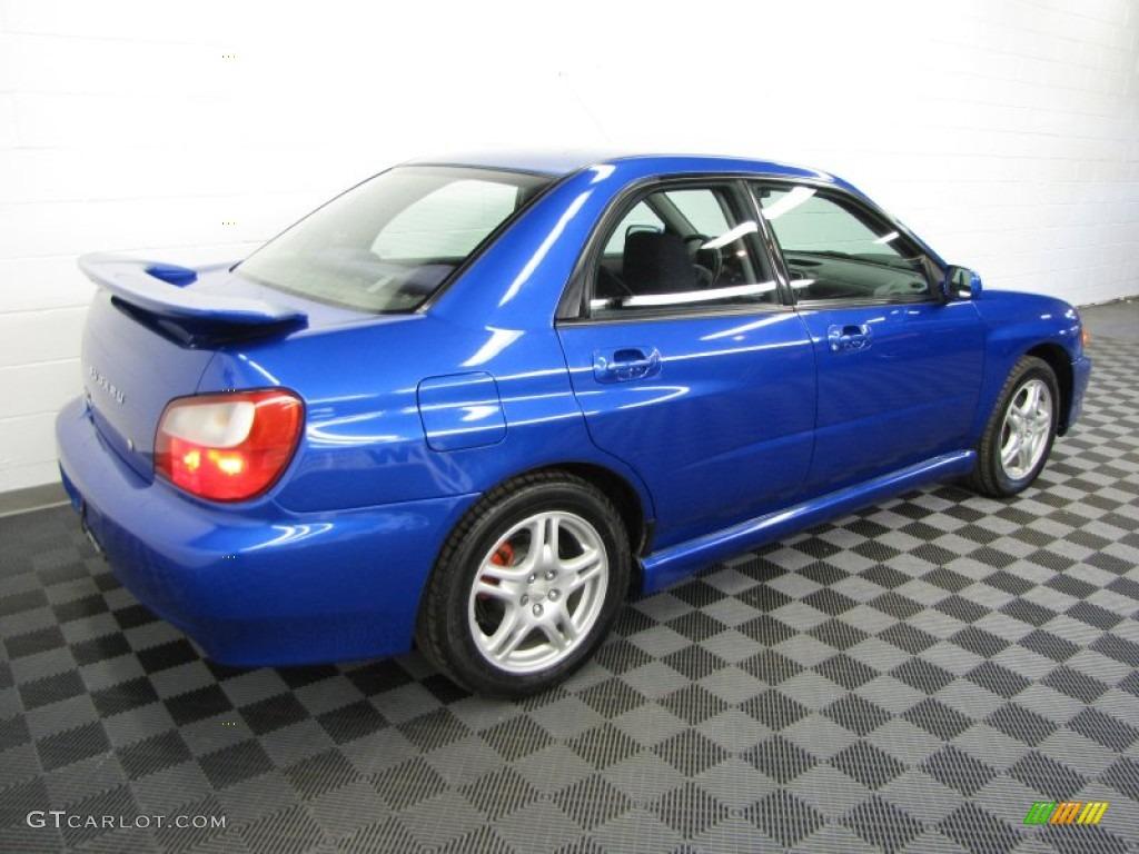 WR Blue Pearl 2002 Subaru Impreza WRX Sedan Exterior Photo #63567224