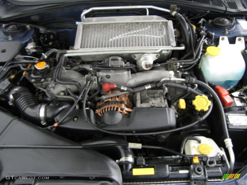 2002 Subaru Impreza Wrx Sedan Engine Photos Gtcarlot Com