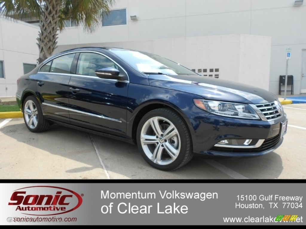 2013 night blue metallic volkswagen cc sport plus. Black Bedroom Furniture Sets. Home Design Ideas