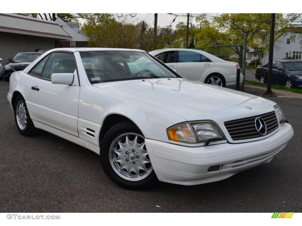 1997 polar white mercedes benz sl 320 roadster 63554744 for Mercedes benz polar white paint