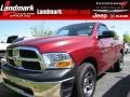 2011 Deep Cherry Red Crystal Pearl Dodge Ram 1500 ST Regular Cab  photo #1