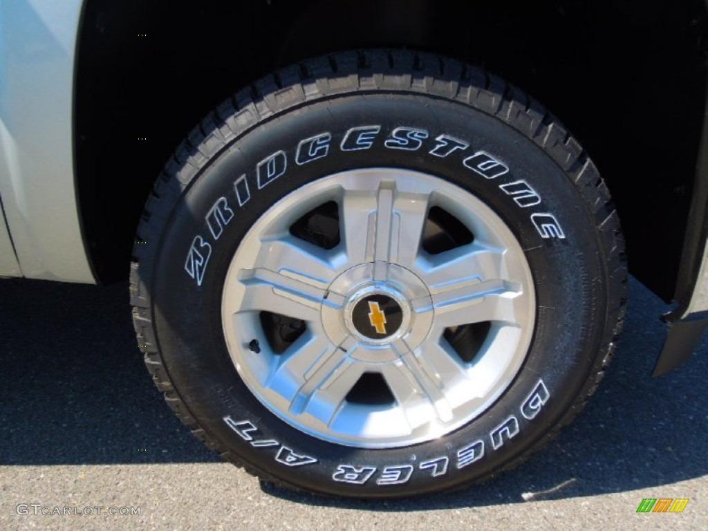 2012 Silverado 1500 LT Regular Cab 4x4 - Silver Ice Metallic / Ebony photo #20