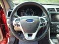 Medium Light Stone Steering Wheel Photo for 2013 Ford Explorer #63600975