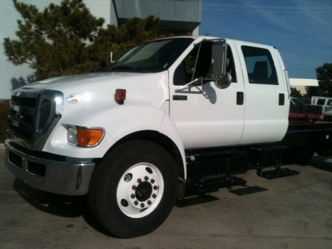 2012 Ford F650 Super Duty XL Crew Cab Chassis Data, Info and Specs