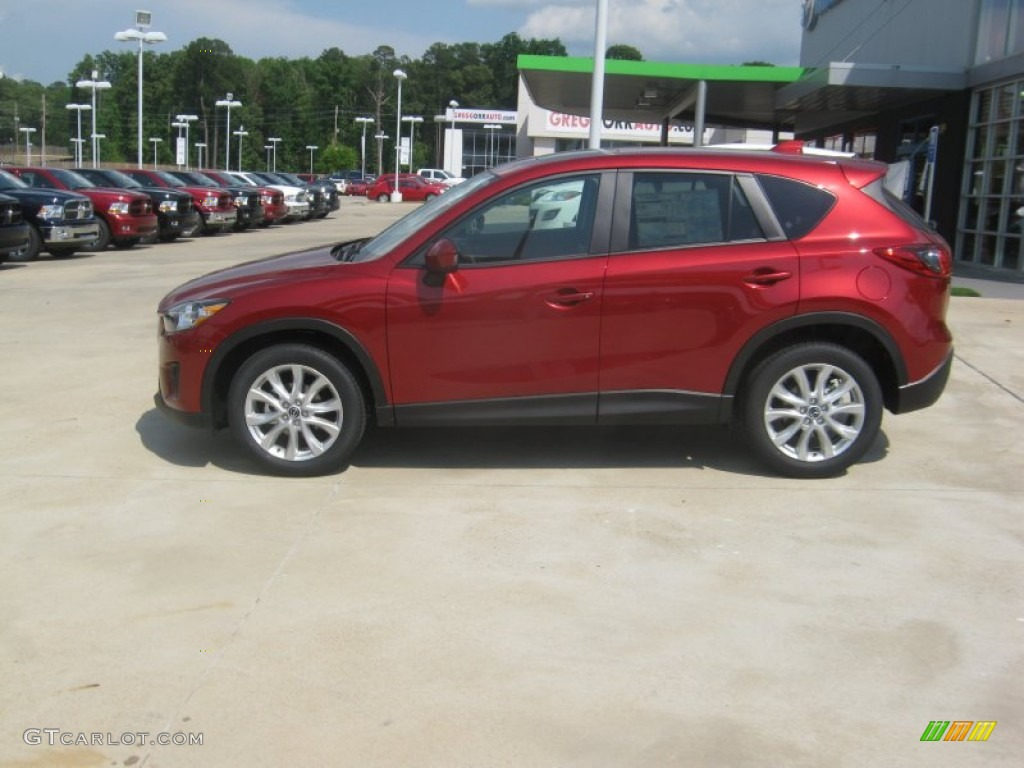 2013 zeal red mica mazda cx 5 grand touring 63596004 photo 2 car color galleries. Black Bedroom Furniture Sets. Home Design Ideas