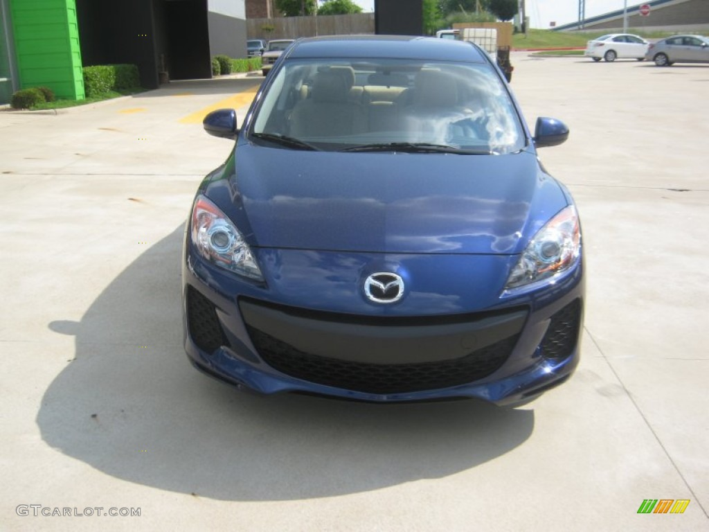 2012 Indigo Lights Mica Mazda Mazda3 I Touring 4 Door 63596002 Photo 8 Car