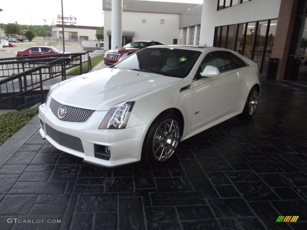 2012 White Diamond Tricoat Cadillac Cts V Coupe 63595964