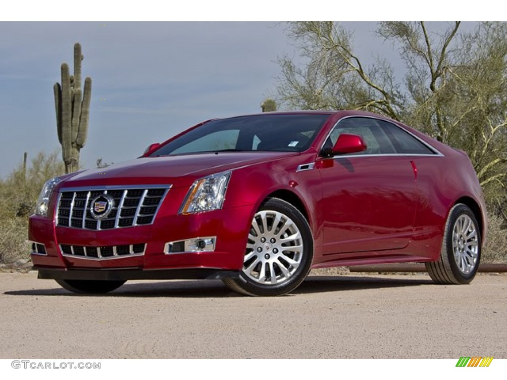 2012 Crystal Red Tintcoat Cadillac Cts Coupe 63595576 Gtcarlot Com Car Color Galleries