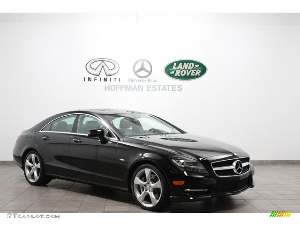 2012 black mercedes benz cls 550 4matic coupe 63596312 for 2012 mercedes benz cls 550