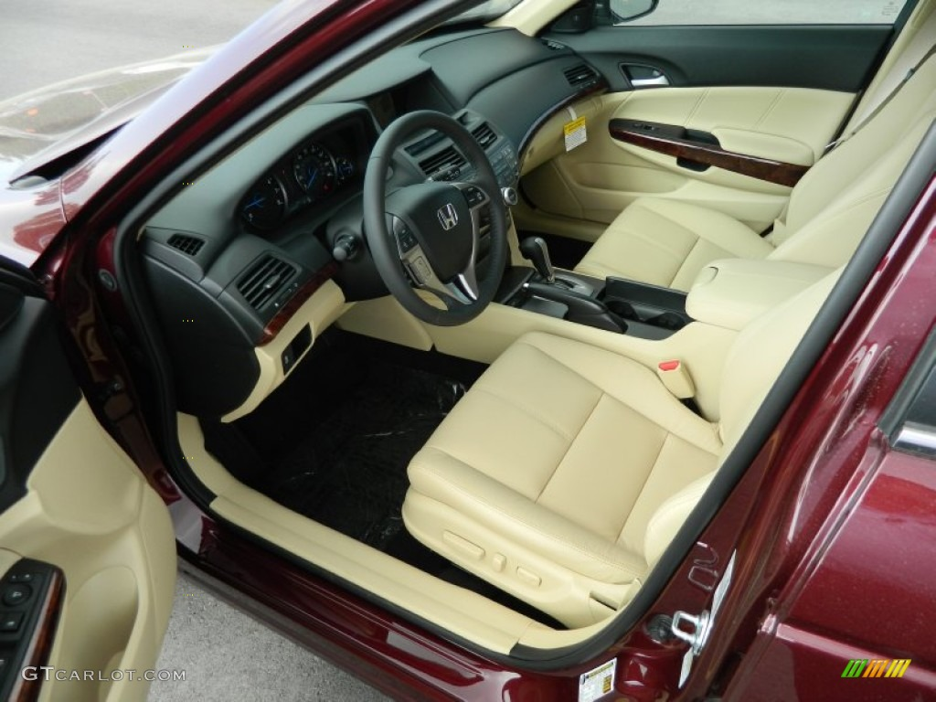 Ivory interior 2012 honda accord crosstour ex l photo - 2012 honda accord coupe interior ...