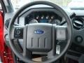 2012 Vermillion Red Ford F250 Super Duty XL Regular Cab 4x4  photo #18