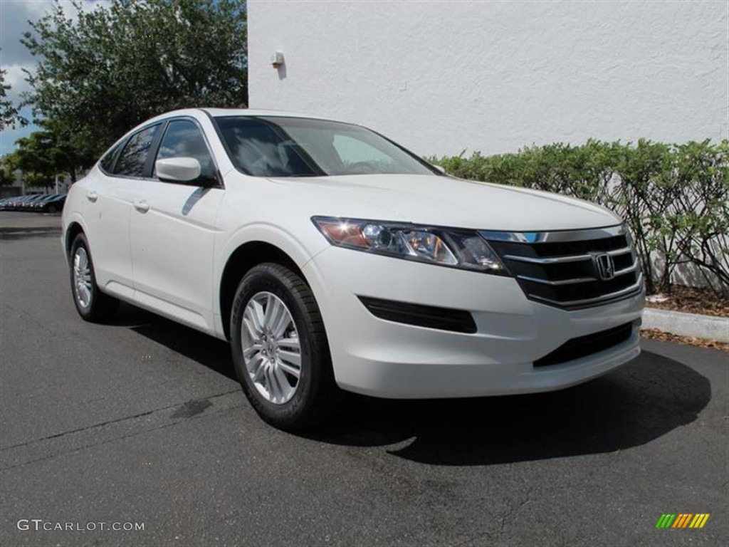 white diamond pearl 2012 honda accord crosstour ex exterior photo 63642664. Black Bedroom Furniture Sets. Home Design Ideas