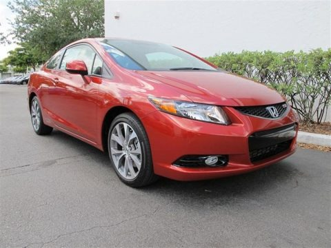 2012 Honda Civic Si Coupe Data, Info And Specs
