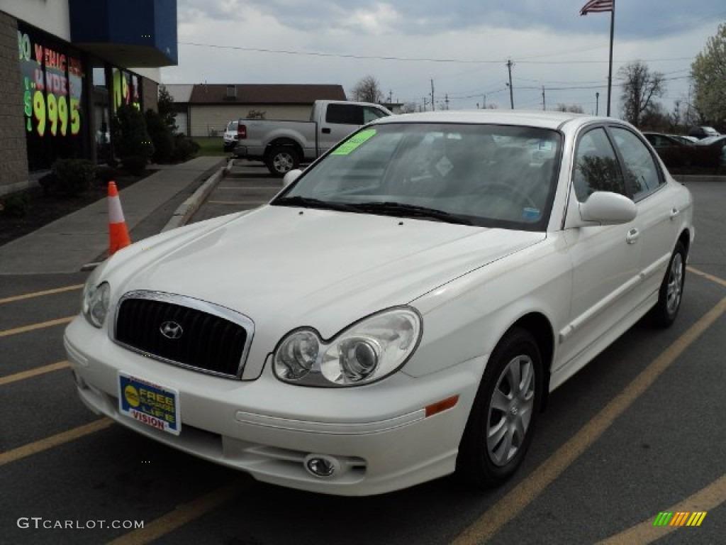 2004 White Pearl Hyundai Sonata 63596189 Photo 4