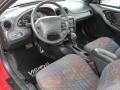 1997 Pontiac Grand Am Graphite Interior Prime Interior Photo