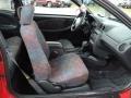 1997 Pontiac Grand Am Graphite Interior Interior Photo