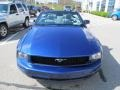2007 Vista Blue Metallic Ford Mustang V6 Deluxe Convertible  photo #5