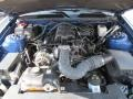 2007 Vista Blue Metallic Ford Mustang V6 Deluxe Convertible  photo #12